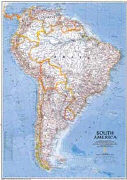 Cover-Bild zu South America Political.. 1:10'600'000
