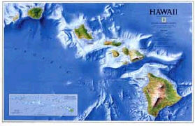 Cover-Bild zu Hawaii. 1:773'000