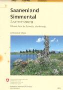Cover-Bild zu Saanenland, Simmental. 1:50'000