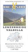 Cover-Bild zu Bike-Explorer Lenzerheide / Valbella. 1:40'000 von Schierle, Gerd