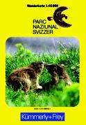 Cover-Bild zu Wanderkarte Parc Naziunal Svizzer.. 1:45'000