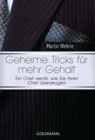 Cover-Bild zu Geheime Tricks für mehr Gehalt von Wehrle, Martin