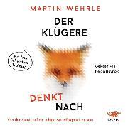 Cover-Bild zu Der Klügere denkt nach (Audio Download) von Wehrle, Martin
