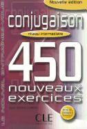 Cover-Bild zu Niveau intermédiaire: Conjugaison. Livre et corrigés - 450 nouveaux Exercices von Grand-Clément, Odile