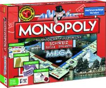 Cover-Bild zu Mega - Monopoly Schweiz / Suisse / Svizzera