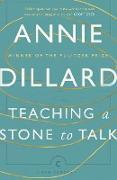 Cover-Bild zu Teaching a Stone to Talk von Dillard, Annie