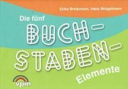 Cover-Bild zu Die fünf Buchstaben-Elemente. ABC-Stempel von Brügelmann, Hans