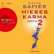 Cover-Bild zu Mieses Karma hoch 2 (Ungekürzte Lesung) (Audio Download) von Safier, David