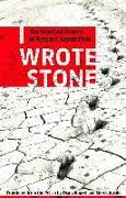 Cover-Bild zu I Wrote Stone: The Selected Poetry of Ryszard Kapuscinski von Kapuscinski, Ryszard