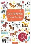 Cover-Bild zu Glitzerspaß Pferde-Sticker