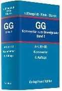Cover-Bild zu Bd. 2: Kommentar zum Grundgesetz Bd. 2: Artikel 20 bis 82 - Kommentar zum Grundgesetz von Mangoldt, Hermann von