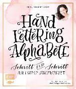 Cover-Bild zu Handlettering Alphabete von Cappell, Tanja