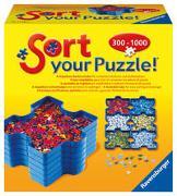Cover-Bild zu Ravensburger Sort your Puzzle - 6 stapelbare Puzzle-Sortierschalen zum einfachen Sortieren und Aufbewahren von Puzzleteilen, Ideales Zubehör für Puzzler