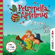 Cover-Bild zu Petronella Apfelmus, Teil 10: Die verflogene Einladung, Der große Fund, Die Zauberäpfel (Ungekürzt) (Audio Download) von Städing, Sabine