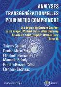 Cover-Bild zu Analyses transgénérationnelles pour mieux comprendre von Gaillard, Thierry