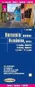 Cover-Bild zu Reise Know-How Landkarte Rumänien, Moldau (1:600.000). 1:600'000 von Peter Rump, Reise Know-How Verlag