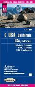 Cover-Bild zu Reise Know-How Landkarte USA 06, Kalifornien (1:850.000). 1:850'000 von Peter Rump, Reise Know-How Verlag