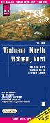Cover-Bild zu Reise Know-How Landkarte Vietnam Nord (1:600.000). 1:600'000 von Peter Rump, Reise Know-How Verlag