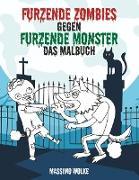 Cover-Bild zu Furzende Zombies gegen furzende Monster von Wolke, Massimo
