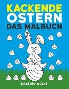 Cover-Bild zu Kackende Ostern - Das Malbuch von Wolke, Massimo