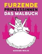 Cover-Bild zu Furzende Prinzessinnen - Das Malbuch von Wolke, Massimo