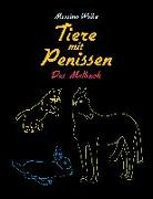 Cover-Bild zu Tiere mit Penissen - Das Malbuch von Wolke, Massimo
