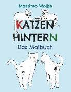 Cover-Bild zu Katzenhintern - Das Malbuch von Wolke, Massimo