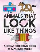 Cover-Bild zu Animals that look like things von Wolke, Massimo