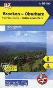 Cover-Bild zu Brocken - Oberharz Outdoorkarte Deutschland Nr. 17. 1:35'000 von Hallwag Kümmerly+Frey AG (Hrsg.)