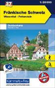 Cover-Bild zu Fränkische Schweiz Outdoorkarte Deutschland Nr. 37. 1:35'000 von Hallwag Kümmerly+Frey AG (Hrsg.)