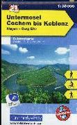 Cover-Bild zu Untermosel - Cochem bis Koblenz, Mayen, Burg Eltz, Nr. 21, Outdoorkarte Deutschland, 1:35 000. 1:35'000 von Hallwag Kümmerly+Frey AG (Hrsg.)