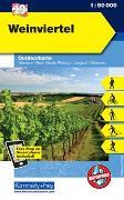 Cover-Bild zu Weinviertel. 1:50'000 von Hallwag Kümmerly+Frey AG (Hrsg.)