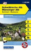 Cover-Bild zu Schwäbische Alb - Münsinger Alb, Bad urach, Blaubeuren. 1:35'000 von Hallwag Kümmerly+Frey AG (Hrsg.)
