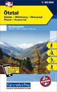 Cover-Bild zu Ötztal, Sölden, Mittelberg, Obergurgl, Pitztal, Kaunertal. 1:50'000 von Hallwag Kümmerly+Frey AG (Hrsg.)