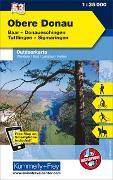 Cover-Bild zu Obere Donau, Baar, Donaueschingen, Tuttlingen, Sigmaringen, Nr. 53, Outdoorkarte Deutschland, 1:35 000. 1:35'000 von Hallwag Kümmerly+Frey AG (Hrsg.)