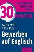 Cover-Bild zu 30 Minuten Bewerben auf Englisch (eBook) von Hofert, Svenja