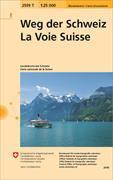 Cover-Bild zu Weg der Schweiz. 1:25'000