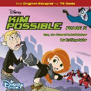 Cover-Bild zu Kim Possible Hörspiel - Folge 5: Ron, der Hauswirtschaftslehrer/Der Zwillingsfaktor (Disney TV-Serie) (Audio Download) von Bingenheimer, Gabriele