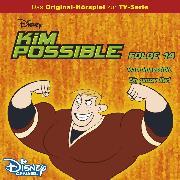 Cover-Bild zu Kim Possible Hörspiel - Folge 14: Team Impossible/Ein ganzer Kerl (Disney TV-Serie) (Audio Download) von Bingenheimer, Gabriele