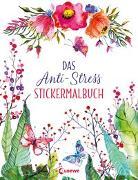 Cover-Bild zu Das Anti-Stress Stickermalbuch von Golding, Elizabeth