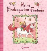 Cover-Bild zu Meine Kindergarten-Freunde (Einhorn) von Loewe Eintragbücher (Hrsg.)