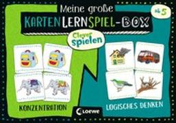 Cover-Bild zu Clever spielen - Meine große KartenLernSpiel-Box - Konzentration/Logisches Denken von Loewe Lernen und Rätseln (Hrsg.)