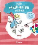 Cover-Bild zu Mein Malkasten-Malbuch - Feen von Loewe Kreativ (Hrsg.)