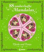 Cover-Bild zu 88 zauberhafte Mandalas - Pferde und Ponys von Labuch, Kristin (Illustr.)