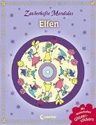 Cover-Bild zu Zauberhafte Mandalas - Elfen (mit Glitzerstickern) von Loewe Kreativ (Hrsg.)
