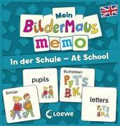 Cover-Bild zu Mein Bildermaus-Memo - Englisch - In der Schule - At School von Labuch, Kristin (Illustr.)