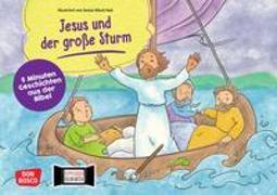 Cover-Bild zu Jesus und der große Sturm. Kamishibai Bildkartenset von Hebert, Esther