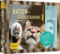 Cover-Bild zu Katzen-Clickertraining-Set von Rüssel, Katja