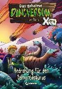 Cover-Bild zu Das geheime Dinoversum Xtra 6 - Bedrohung für den Edmontosaurus von Stone, Rex