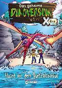 Cover-Bild zu Das geheime Dinoversum Xtra 4 - Flucht vor dem Quetzalcoatlus (eBook) von Stone, Rex